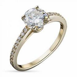 Ring with diamonds 1.16 ct